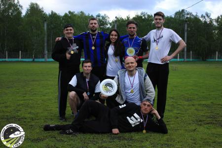 Евгения Коблова на турнире UFO Games 2018
