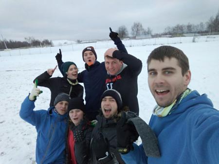 Андрей Смельчаков на турнире По уши в снегу #4