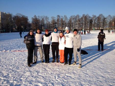 Андрей Смельчаков на турнире По уши в снегу #1