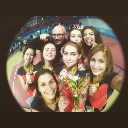 Мария Прокофьева на турнире BEST 2015