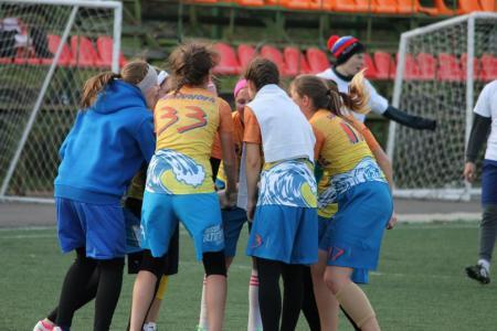 Александра Хрущ на турнире Кубок Столетовых 2014