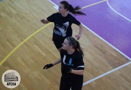 Александра Хрущ на турнире АРЕНА 2015