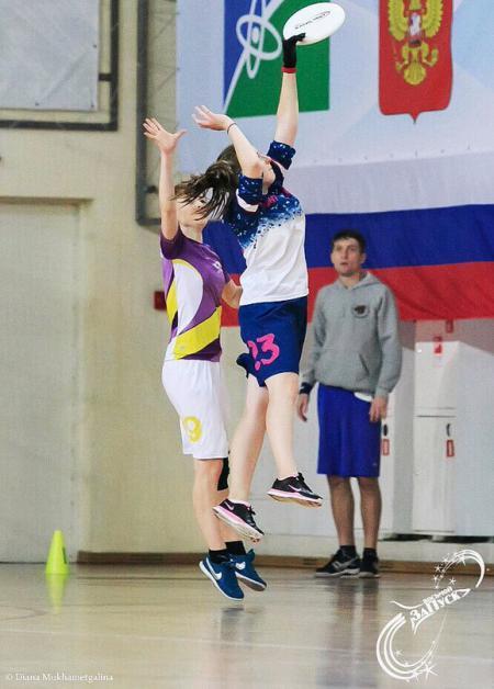 Александра Хрущ на турнире ЗаПуск 2015