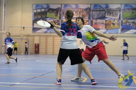 Александра Хрущ на турнире ЗаПуск 2016