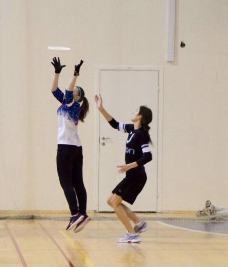 Александра Хрущ на турнире Женская лига | IRONSIX | ЦР-1