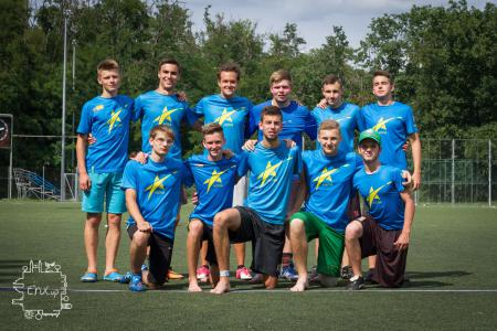 Юрий Споденюк на турнире EYU Cup 2017