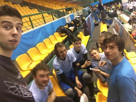 Игорь Аспидов на турнире Winter Brest 2017