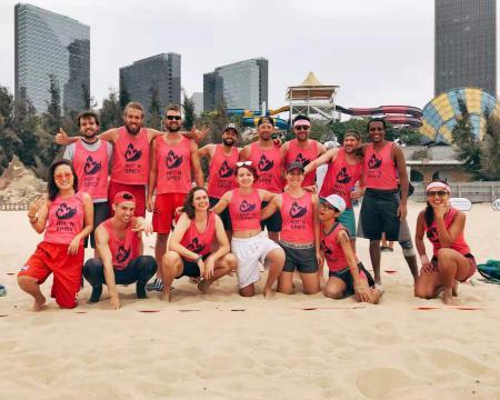 Юлия Костюченко на турнире Xiamen Beach Open 2019