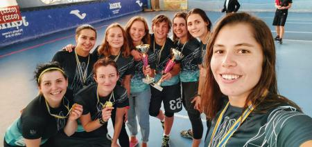 Наталья Батяйкина на турнире Lubart Ultimate Cup 2019