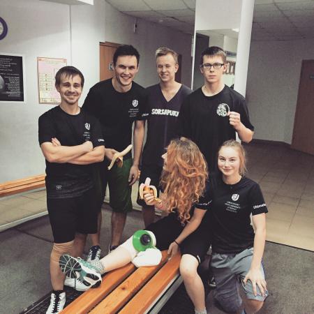 Юрий Волков на турнире Летящий SpiNN 2016