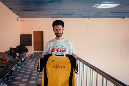 Сергей Райнис на турнире Hello, win! 2013