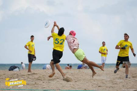 Тарас Кузик на турнире Ukraine Beach Open (ПЧУ) 2018