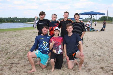 Дима Пчёлкин на турнире Spring Beach Hat 2018