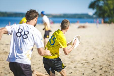 Дима Пчёлкин на турнире Dnipro Beach 2018
