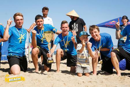 Дима Пчёлкин на турнире Ukraine Beach Open (ПЧУ) 2018