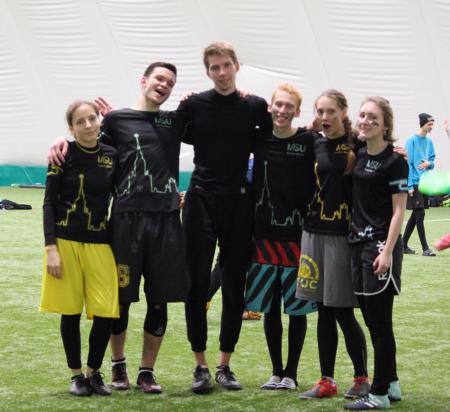 Анна Грибкова на турнире СЗЛ 2017
