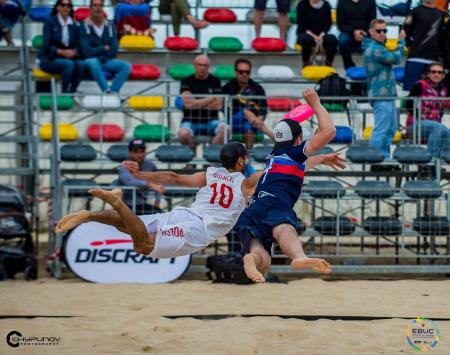 Андрей Сопрунов на турнире EBUC 2019