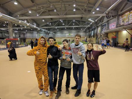 Ришат Гильманов на турнире Рождественский турнир 2017