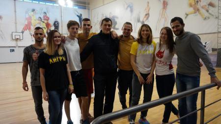 Ирина Марамзина на турнире Миксомания 2016