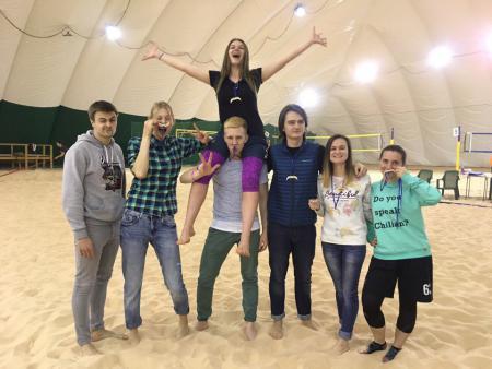 Ирина Марамзина на турнире Песок в усах 2017