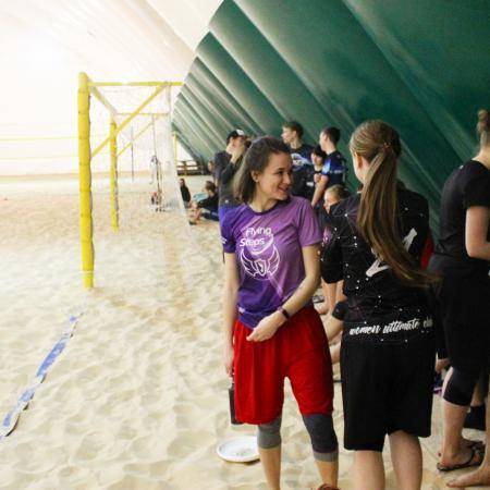 Ирина Марамзина на турнире Зимняя Пляжная Лига, II Этап