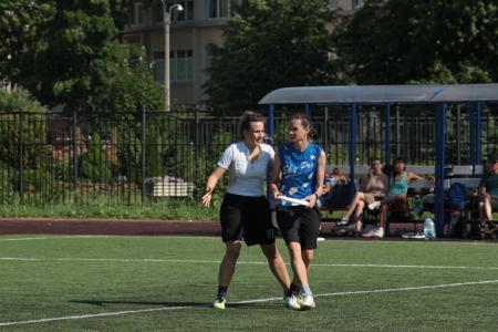 Ирина Арсеньева на турнире Заневская ЖАРА