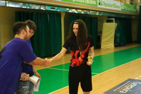 Екатерина Дубоделова на турнире ЗЧУ 2016