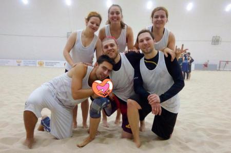 Екатерина Якушева на турнире Зимняя Пляжная Лига 2017