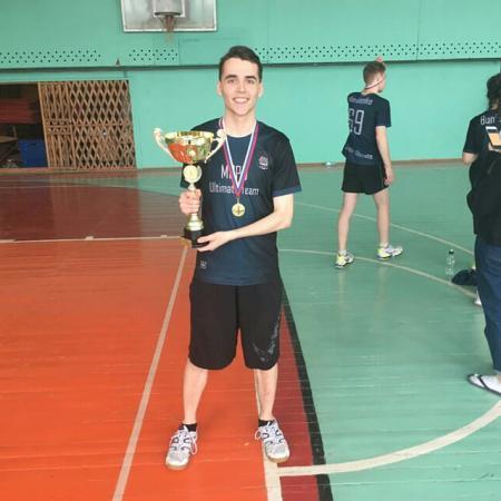 Лука Грубин на турнире Кубок Золотых Львов 2019