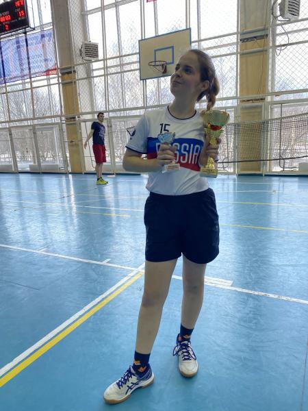 Марианна Герасимова на турнире Кубок Физтеха