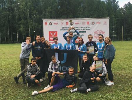 Марина Сидунова на турнире Ashukino green 2019