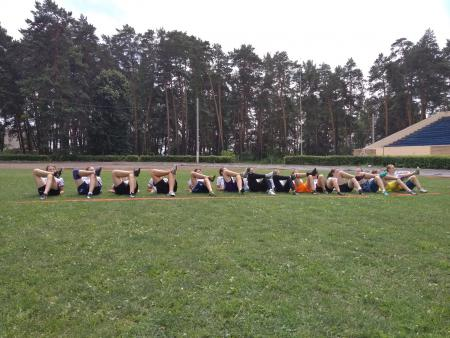 Лера Першина на турнире Охота на Жар-птицу 2018