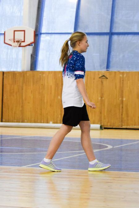 Звонарева Елизавета на турнире Женская лига ЦР-2