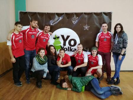 Илья Шубин на турнире Yo-Yolka 2018