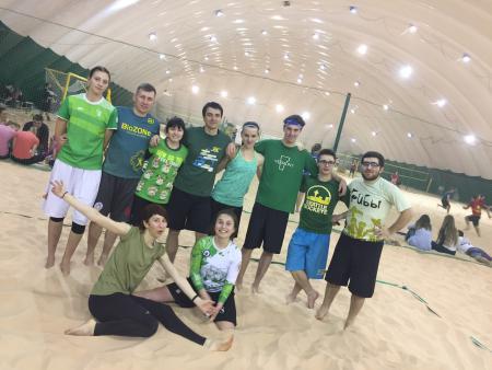 Александра Кудимова на турнире Песок в усах 2017