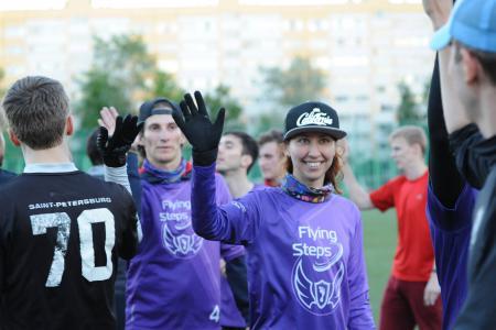 Александра Кудимова на турнире Чемпионат СПб 2017