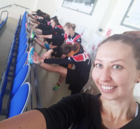 Александра Кудимова на турнире ЗаПуск 2017