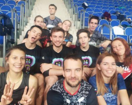 Александра Кудимова на турнире Миксомания 2018