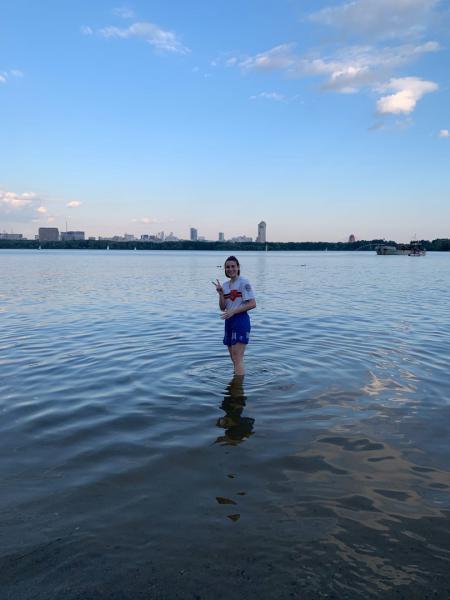 Inna Pavliuchenko на турнире Строгинелло 27.06.2020