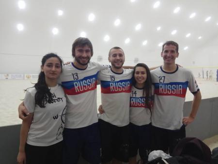 Анна Стукалина на турнире Зимняя Пляжная Лига 2017