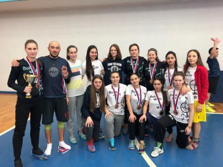 Анна Стукалина на турнире Лорд Новгород 2018