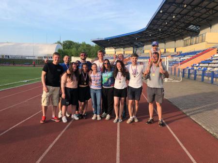 Анна Стукалина на турнире 1 Этап МЛР 2018