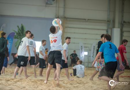 Александр Ярошевич на турнире Winter Beach 2020