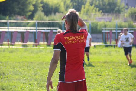 Дмитрий Туманов на турнире Ultimate frisbee 3Х3 «HEAT 2016»