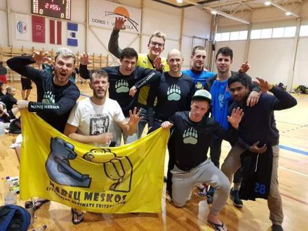 Artūras Petrauskas на турнире Rigas Rudens 2018