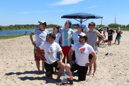 Виталя Короткевич на турнире Spring Beach Hat 2017