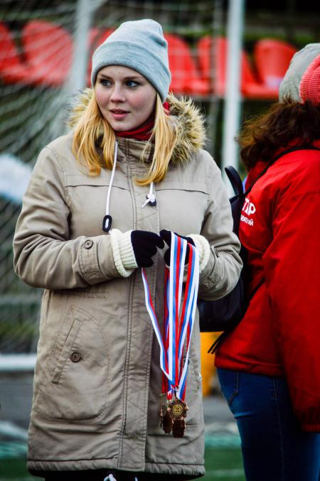 Александра Ларина на турнире Кубок Столетовых 2016