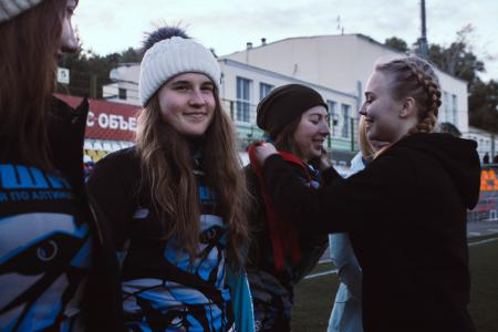 Александра Ларина на турнире Кубок Столетовых 2018