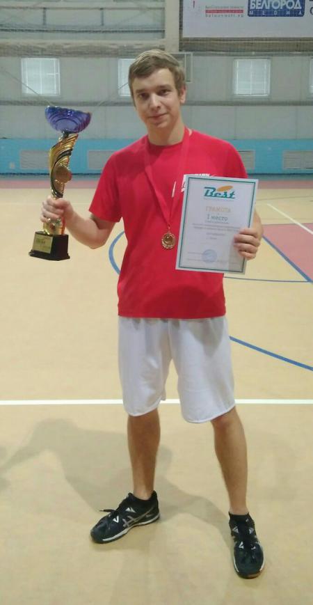 Александр Слепухин на турнире BEST 2018