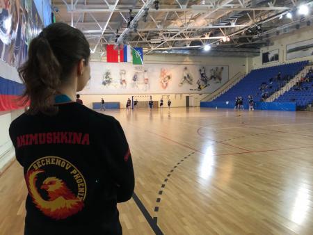 Лиза Акимушкина на турнире ЗаПуск 2019